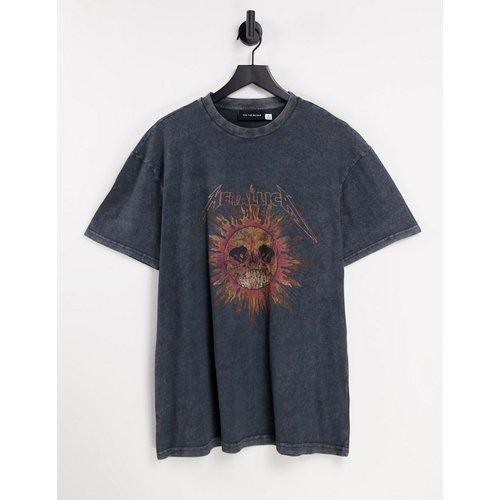 Topman - Metallica - T-shirt - Noir - Topman - Modalova