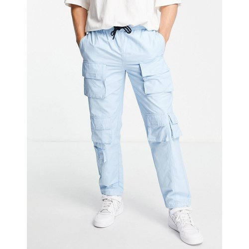 Pantalon cargo décontracté avec poches multiples - Topman - Modalova