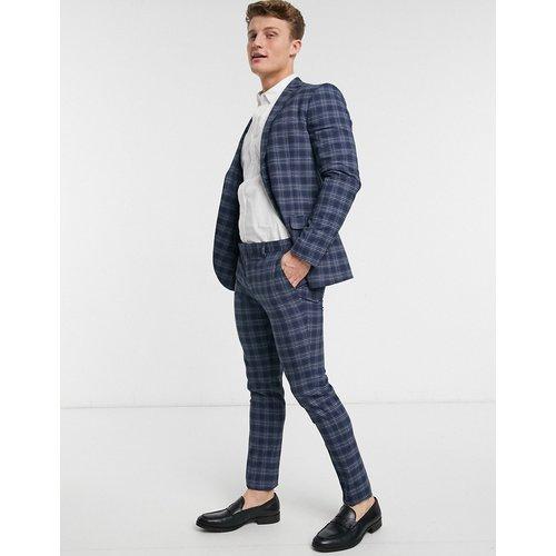 Pantalon de costume ajusté à carreaux - Topman - Modalova