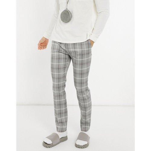 Pantalon de costume skinny à carreaux - Topman - Modalova