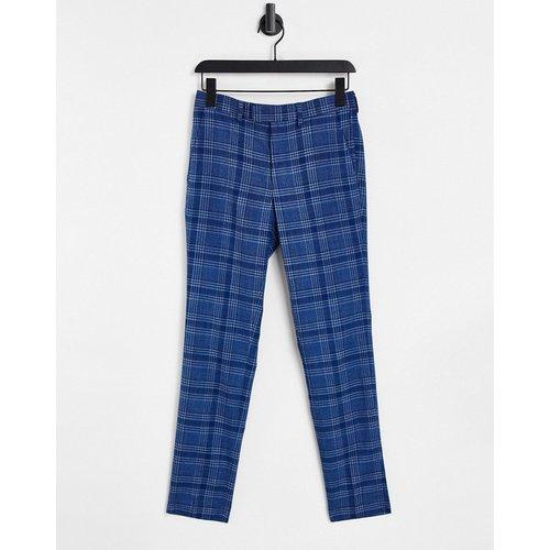 Pantalon skinny de costume à carreaux - Topman - Modalova