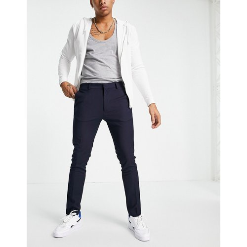 Pantalon skinny en polyester recyclé - Bleu - Topman - Modalova