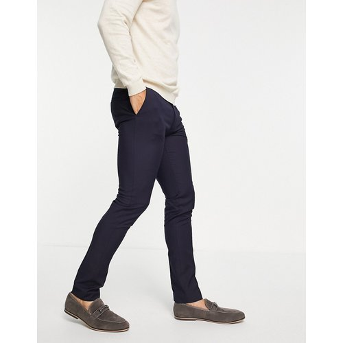 Pantalon ultra ajusté en tissu recyclé - Bleu - Topman - Modalova