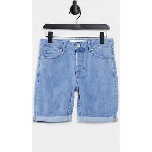 Short en jean skinny stretch - moyen - Topman - Modalova