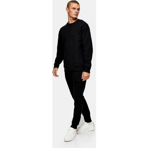 Survêtement avec sweat-shirt et jogger - Noir - Topman - Modalova