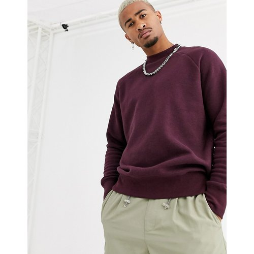Sweat-shirt - Bordeaux - Topman - Modalova