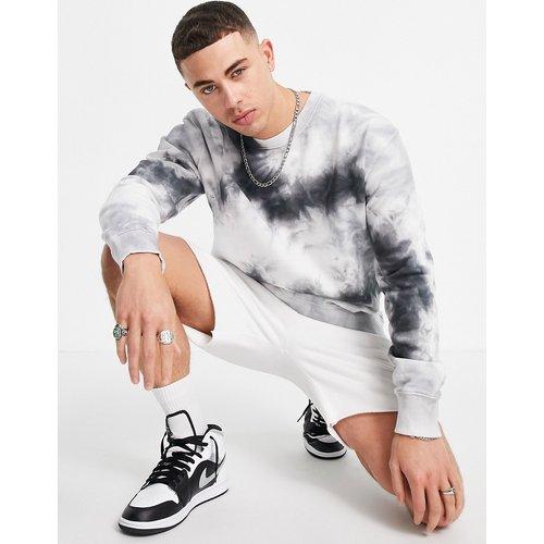 Sweat-shirt d'ensemble effet tie-dye - Topman - Modalova