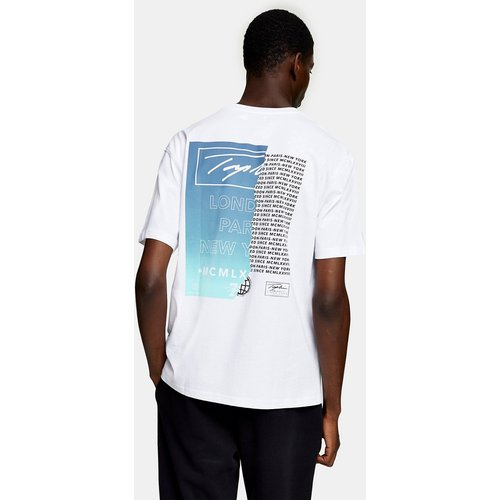 T-shirt à imprimé emblématique - Topman - Modalova