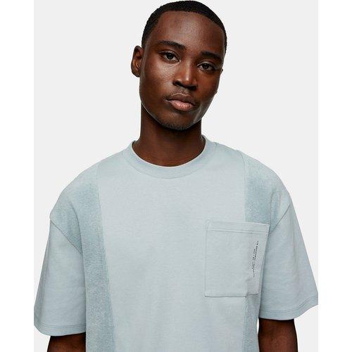 T-shirt à poche texturée - Topman - Modalova