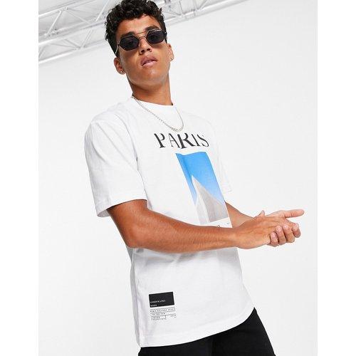 T-shirt avec imprimé Paris - Topman - Modalova