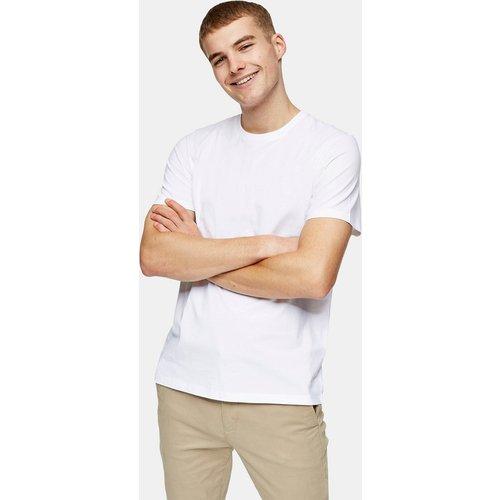 Topman - T-shirt classique - Blanc - Topman - Modalova