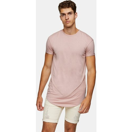 Topman -T-shirt long -Rose - Topman - Modalova
