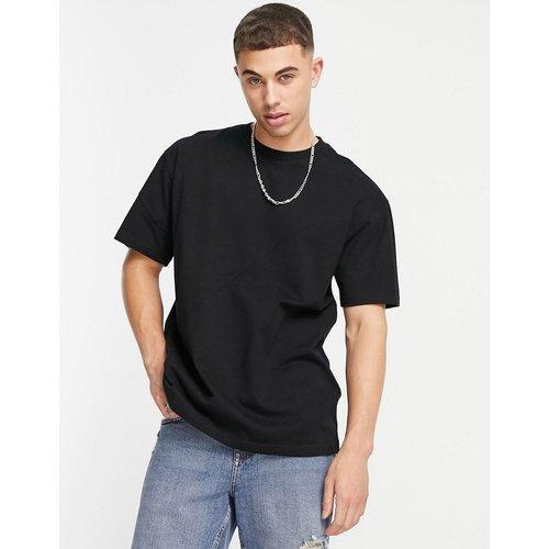 T-shirt oversize à empiècement - Topman - Modalova