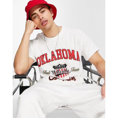 T-shirt oversize à imprimé «Oklahoma» - Topman - Modalova