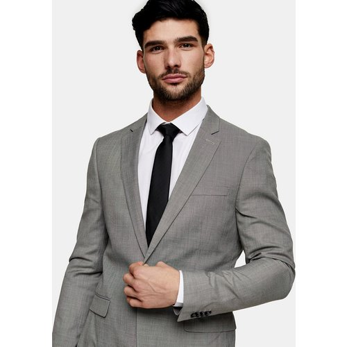 Veste de costume coupe droite ajustée - Topman - Modalova