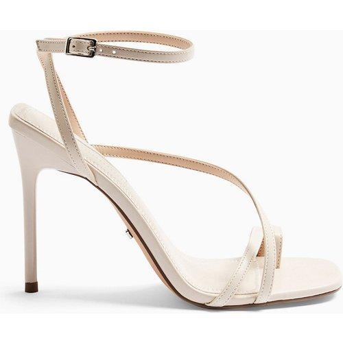Chaussures à talon et lanières - Crème - Topshop - Modalova