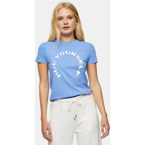 Hug Yourself - T-shirt rétréci - Topshop - Modalova