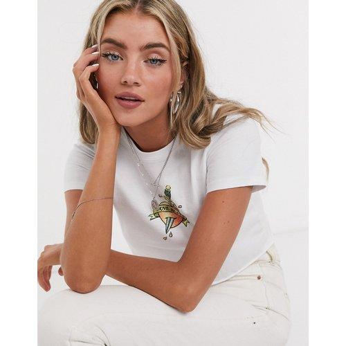 Love hurts- T-shirt crop top - Topshop - Modalova