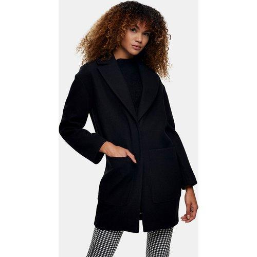 Manteau ajusté avec ceinture - Topshop - Modalova