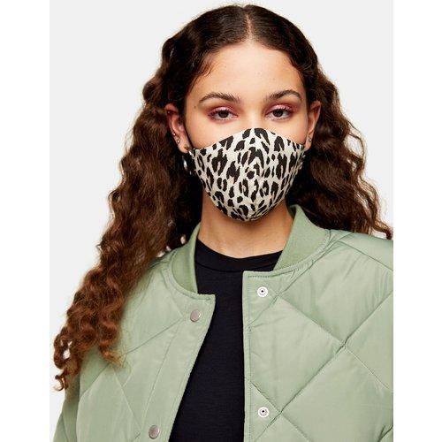 Masque en tissu à imprimé léopard - Topshop - Modalova