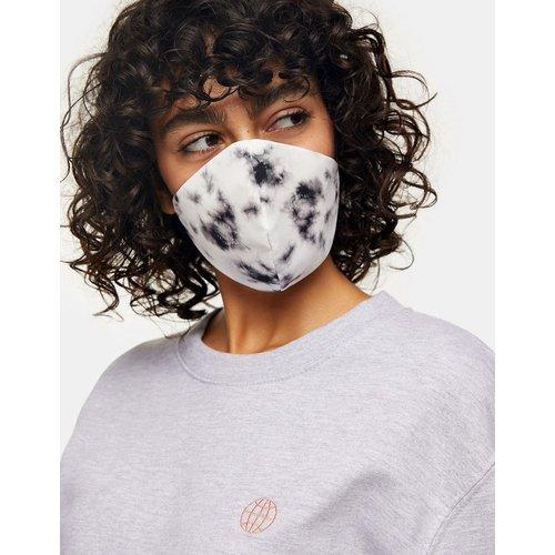 Masque en tissu effet tie-dye - et blanc - Topshop - Modalova