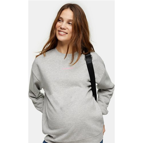 Sweat-shirt avec slogan « Motherhood » - Topshop Maternity - Modalova