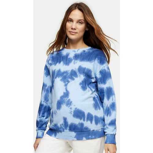 Sweat-shirt motif tie dye - Topshop Maternity - Modalova