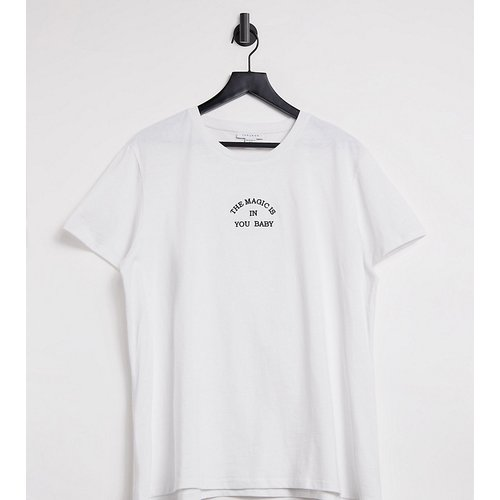T-shirt à imprimé The magic is in you - Topshop Maternity - Modalova