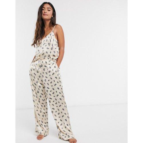 Pantalon de pyjama avec plume - Topshop - Modalova