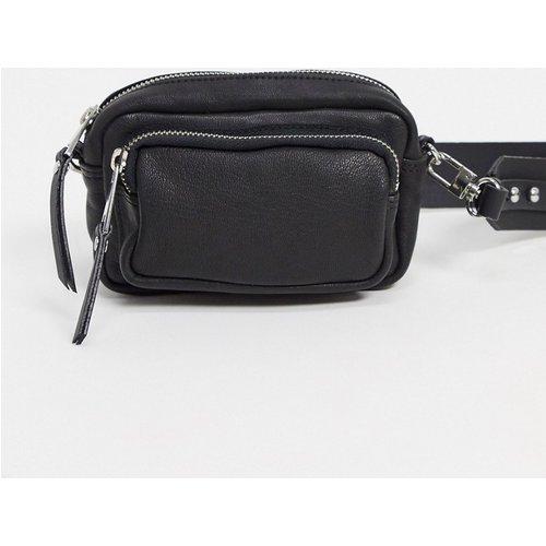 Petit sac bandoulière en cuir - Topshop - Modalova