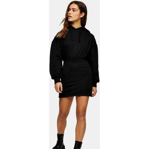 Robe sweat-shirt courte à capuche - Topshop Petite - Modalova
