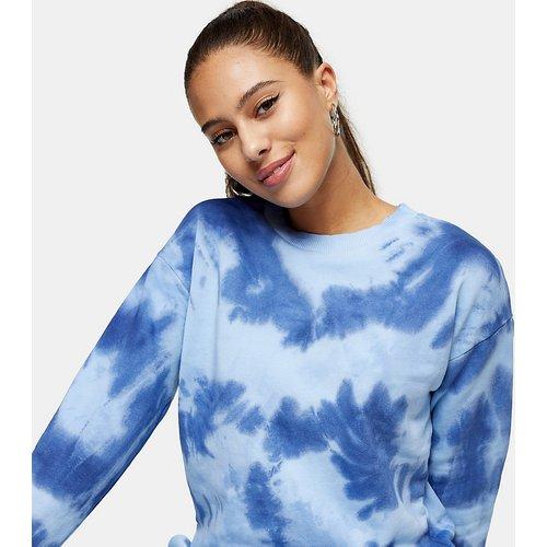 Sweat-shirt effet tie-dye - Topshop Petite - Modalova