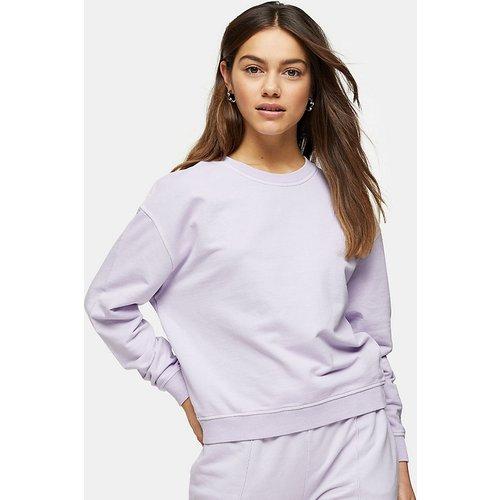 Sweat-shirt - Lilas - Topshop Petite - Modalova