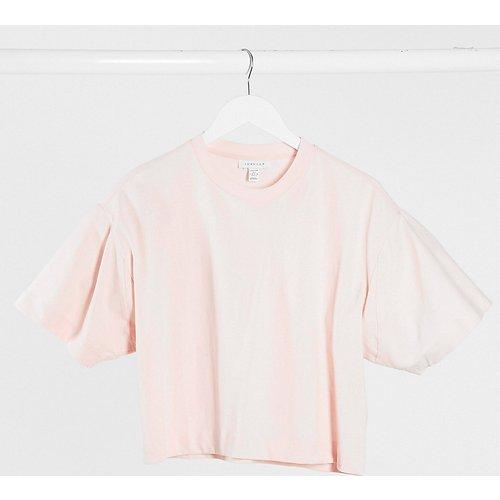 T-shirt coupe carrée - Topshop Petite - Modalova
