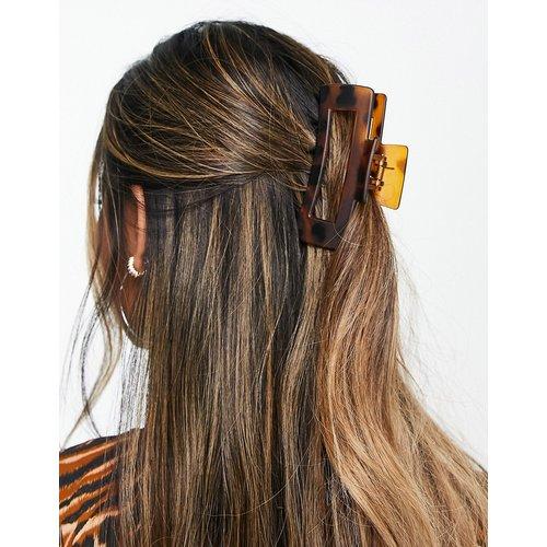 Pince à cheveux effet écaille de tortue - mat - Topshop - Modalova