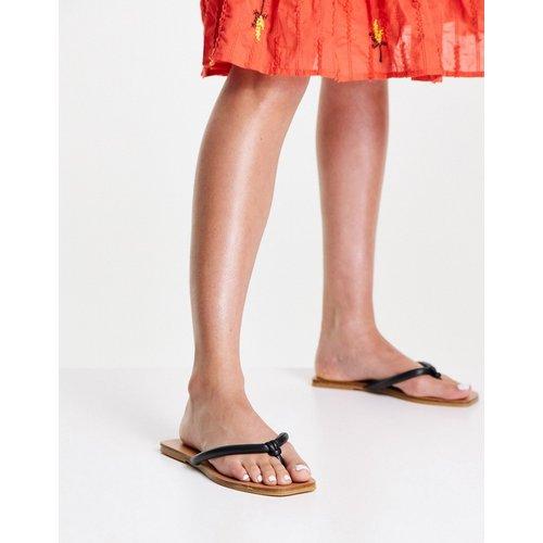 Poppy - Sandales tubulaires avec entredoigt - Topshop - Modalova