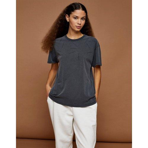 Premium Leisure - T-shirt délavé - Anthracite - Topshop - Modalova