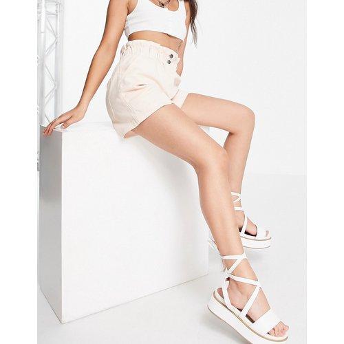 Short casual à taille haute froncée - Topshop - Modalova