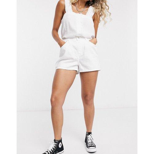 Short en jean taille haute - Topshop - Modalova