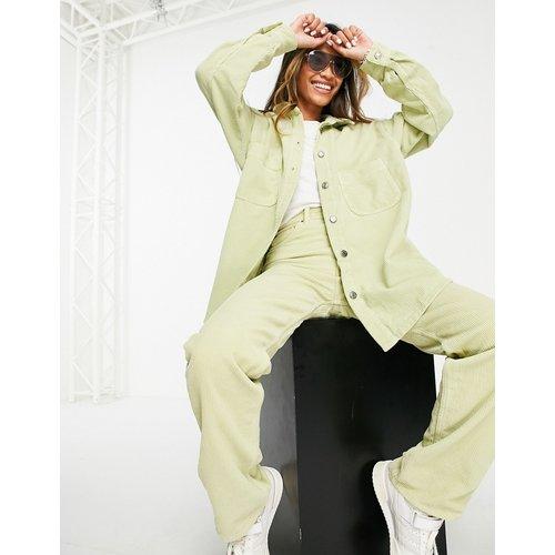 Veste-chemise en velours côtelé (pièce d'ensemble) - pastel - Topshop - Modalova