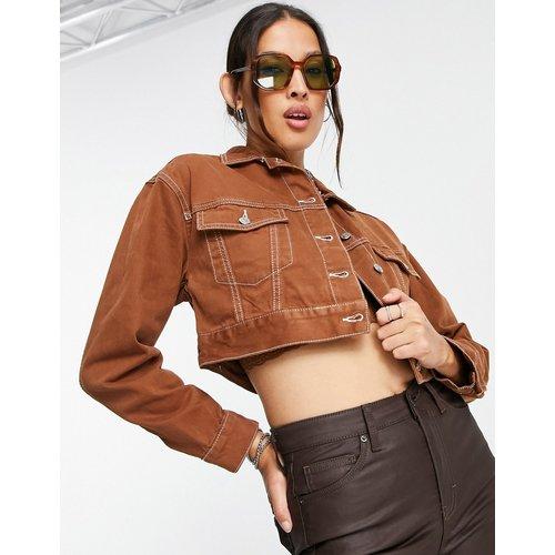 Veste en jean ajustée - Topshop - Modalova