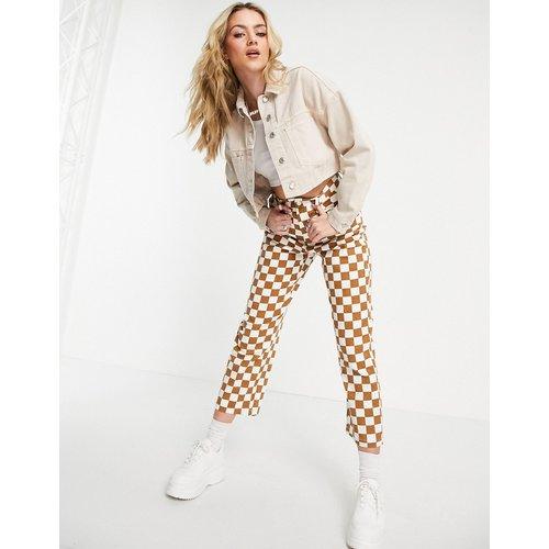Veste en jean courte - Sable - Topshop - Modalova