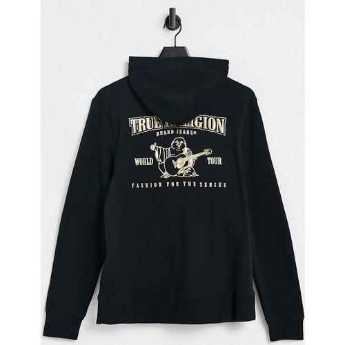 Hoodie à logo doré - True Religion - Modalova