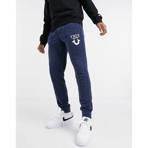 Pantalon de jogging resserré aux chevilles avec logo imprimé effet bouffant - True Religion - Modalova