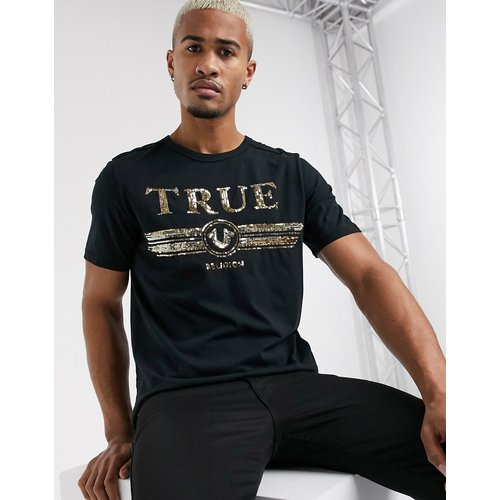 T-shirt à logo avec sequins - True Religion - Modalova