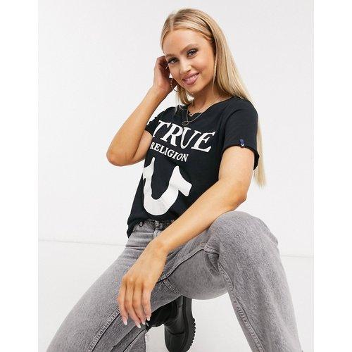 T-shirt à logo sur le devant - True Religion - Modalova
