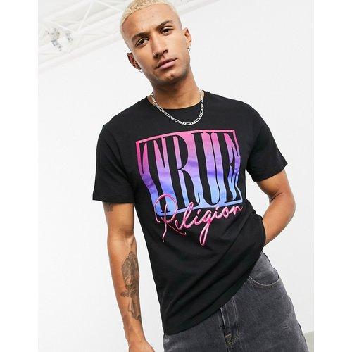 T-shirt avec imprimé Brooklyn sur le devant - True Religion - Modalova