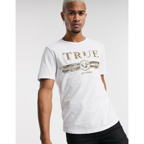 T-shirt avec logo à sequins - True Religion - Modalova