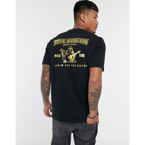 T-shirt avec logo doré au dos - True Religion - Modalova
