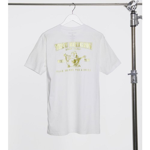 T-shirt avec logo imprimé doré au dos - True Religion - Modalova